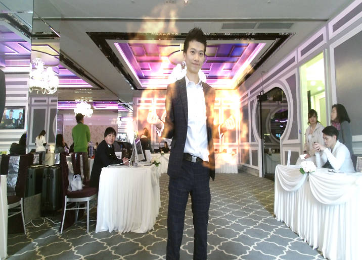 AR Photo booth @Wedding Banquet